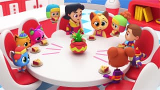 Super Supremes' Twinkle Twinkle Little Star & More Classic Nursery Rhymes on FREECABLE TV