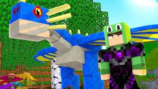 Little Lizard Gaming: Minecraft Dragons! on FREECABLE TV